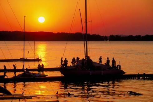 Lake Norman, NC -Sunset2