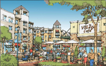 Outdoor Shopping Village